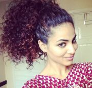 hot high ponytail hairstyles