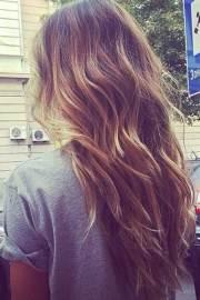 wavy long layered haircuts 2019