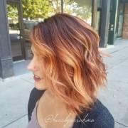 pumpkin spice hair color ideas