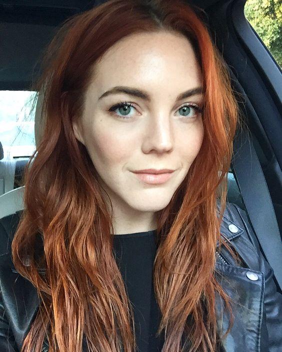 17 Pumpkin Spice Hair Color Ideas 2018 Hairstyle Guru
