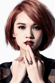 short hairstyles asian