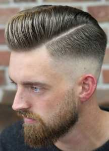 20 Hottest High Fade Pompadour Hairstyle Worth Trying