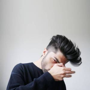 Fade Pompadour Haircut