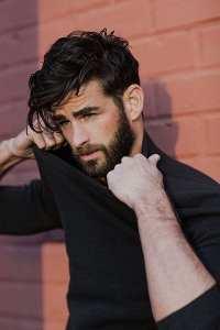 Beard-Medium-length-hair