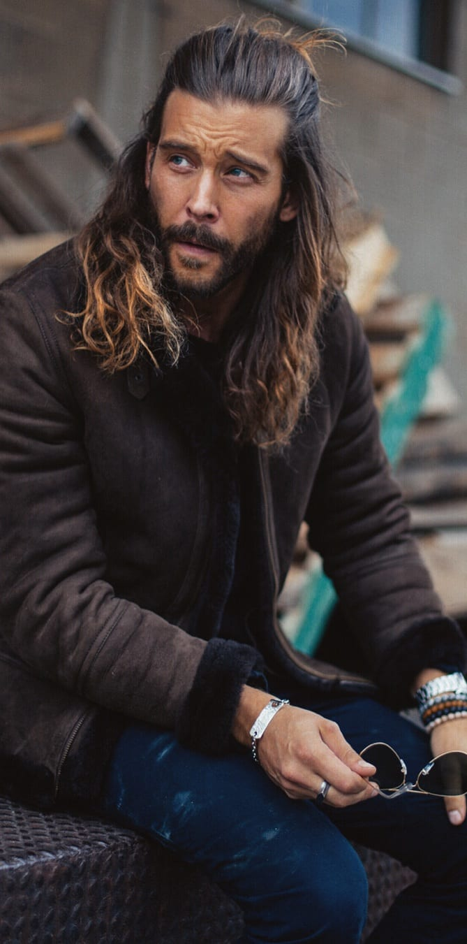 Super Inspirational Long Hairstyles For Men