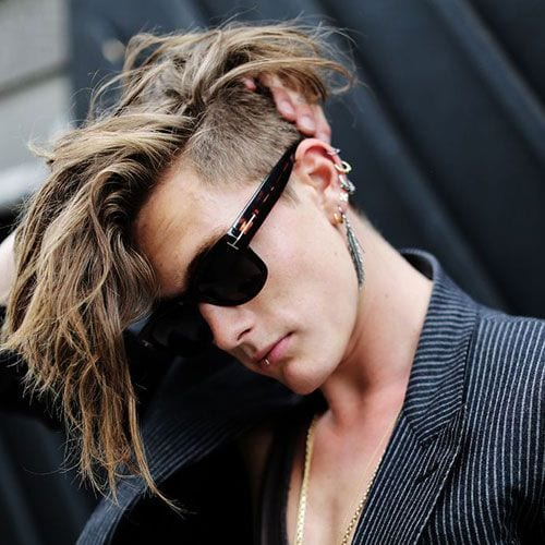 Hipster hairstyle for men