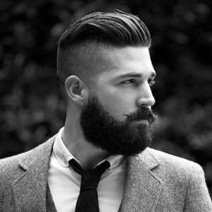 Men-with-beard-undercut-hairstyle