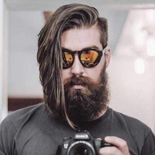 This is what we call Magical - Undercut with Long hair = Complete Hipster Haircut for men