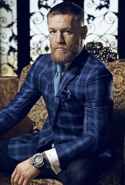 Connor McGregor hairstyle look