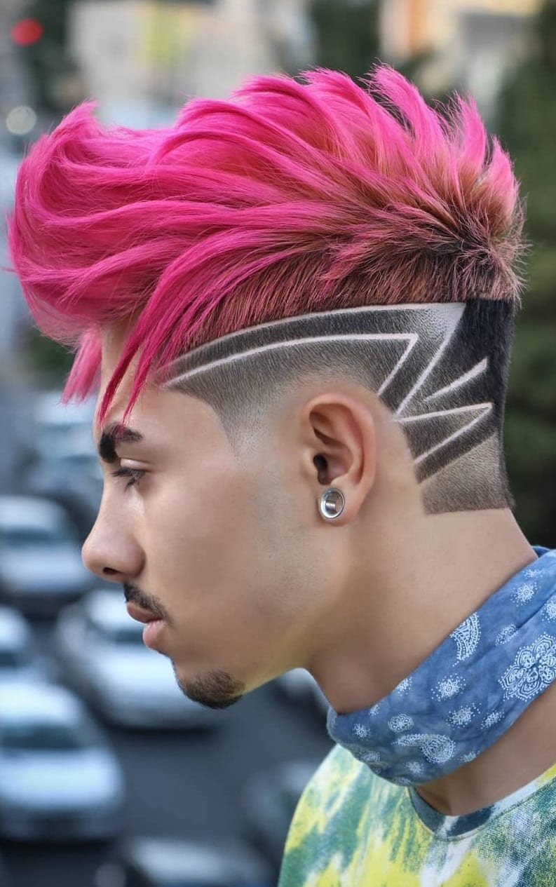 Cool Textured Haircut Design For Men to try in 2019