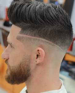 Cool Textured Pompadour Hairstyle For Men In 2019