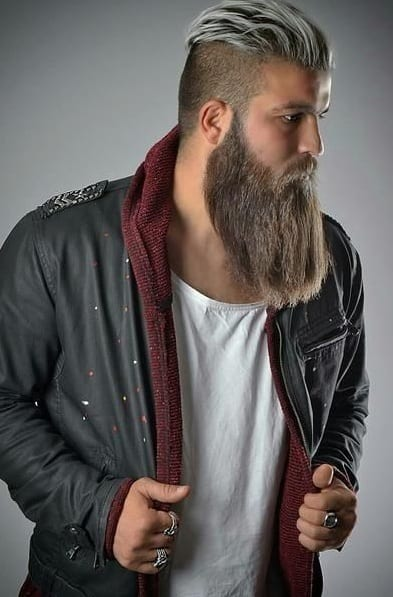14 Trendy Undercut Hairstyles To Compliment Your Beard On Pinterest Right Now