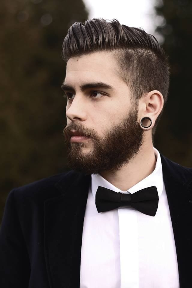 5 Trending Undercut Hairstyles with Beard