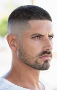 Short Hair Undercut Look for Men