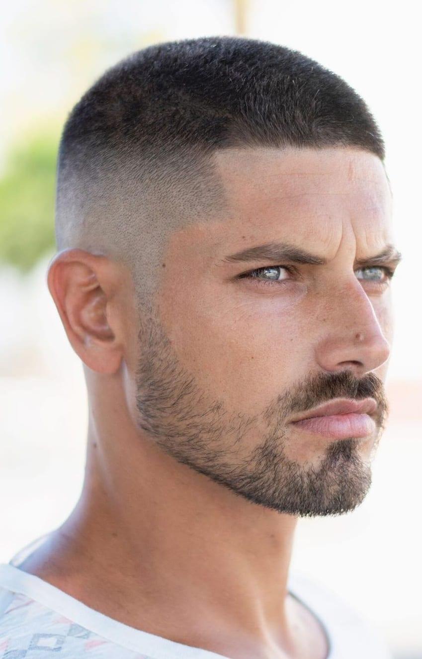 Short Hair Undercut Look for Men