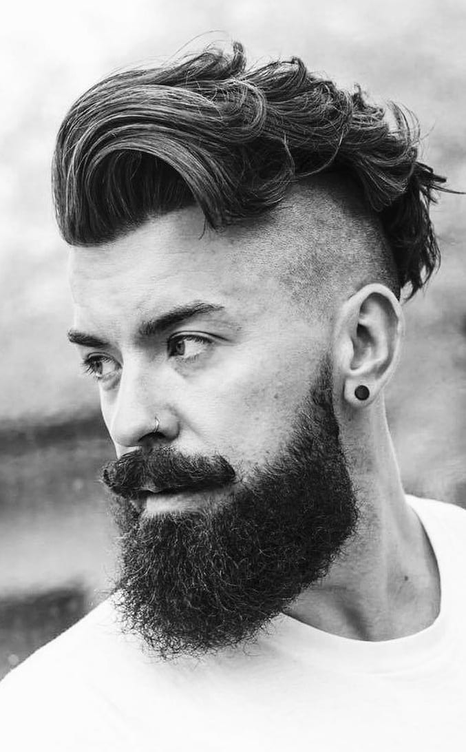 Trendy Undercut Hairstyles To Compliment Your Beard