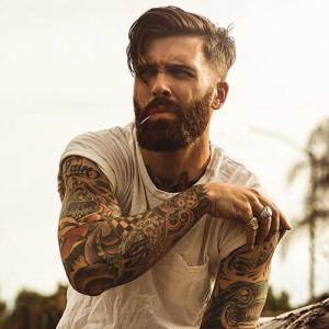 medium-hair-undercut-hairstyle-with-beard
