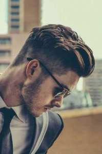 smart undercut hairstyle