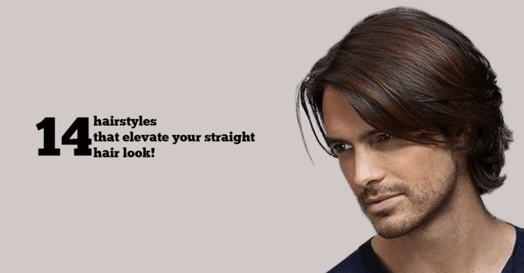 Best Straight Hairstyles for men images