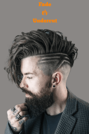Fade or Undercut Haircuts For Men