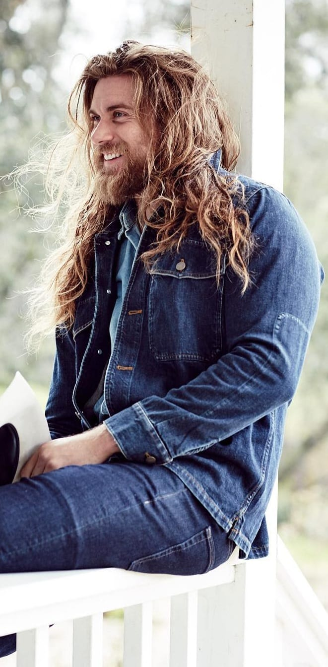 20 Sexy Looks For Men – Long Hairstyles