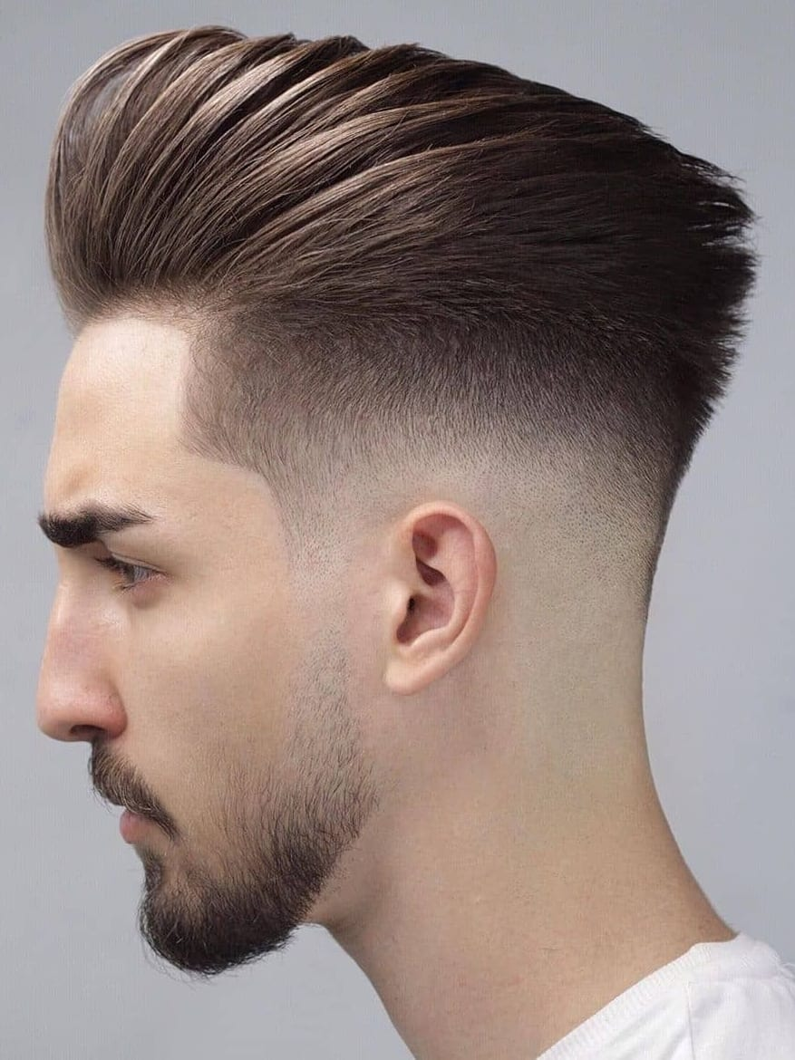 Back Fade Hairstyle For Men