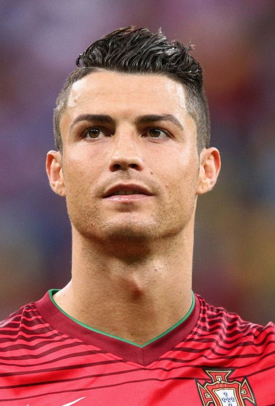 Cristiano Ronaldo's Hairstyle.