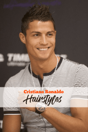 Popular Ronaldo Hairstyles To have a Look