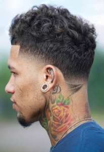 Curls And Fade Haircut Combinations For Men To Try Out This Summer!