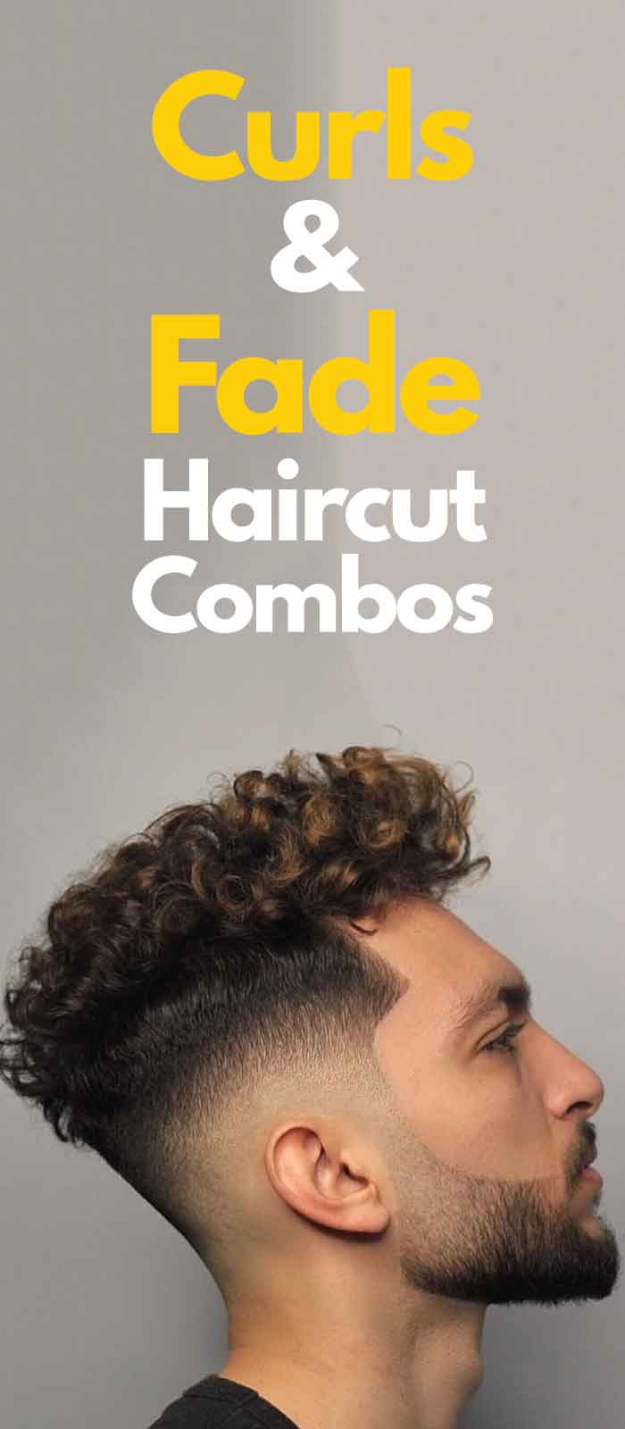 Curls And Fade Haircut Combo!