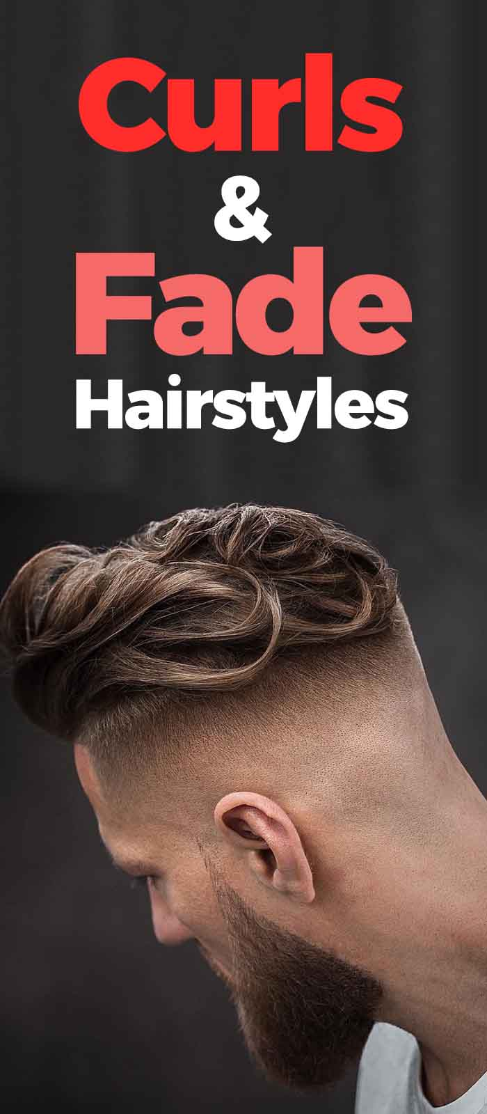 Curls And Fade Hairstyle Combo