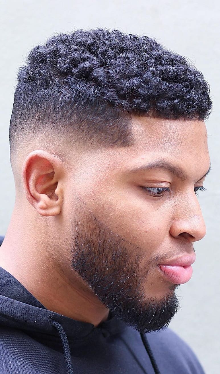 Curly Hair And Fade for 2019