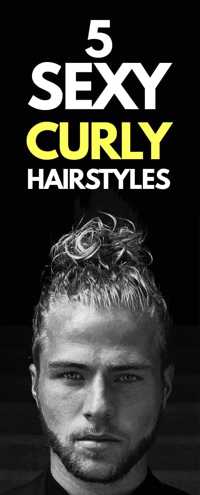 Curly Hairstyle For Men!