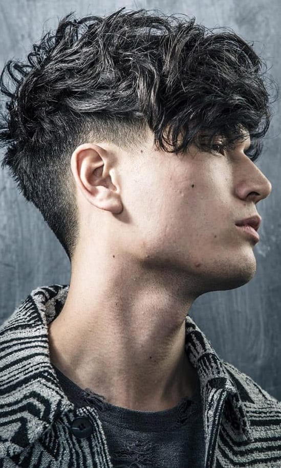 Curly Hairstyle For Men