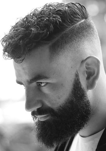 Curly Hairstyles For Men In 2019!
