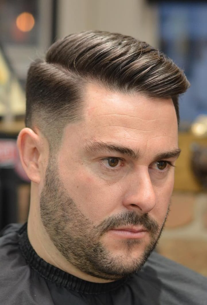 Fade & Undercut Hairstyle For Men