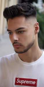 Hairstyle Combinations With Fade Style For Men