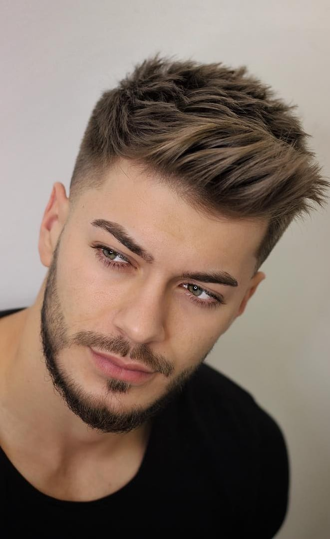 Hairstyle Combinations With Fade Style For Men In 2019