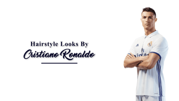 Hairstyle looks by cristiano ronaldo