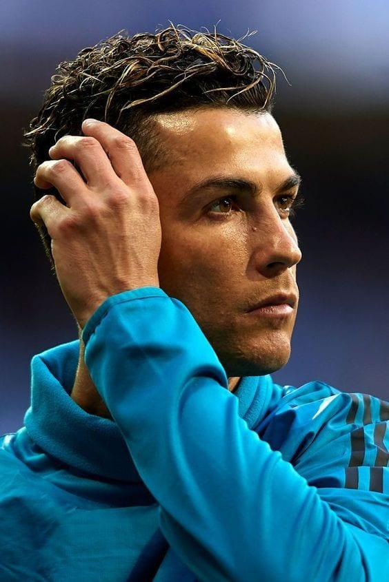 Hairstyles Complimenting Ronaldo's Face Structure