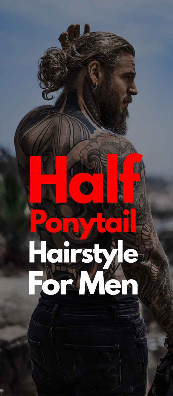 Half Ponytail Haircuts