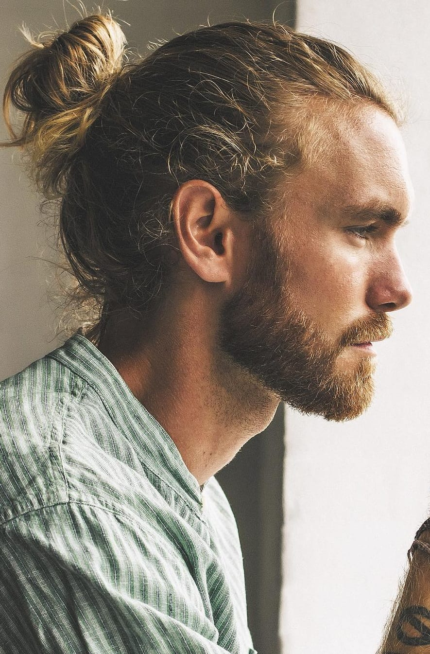High Ponytail Hairstyle For Men In 2019