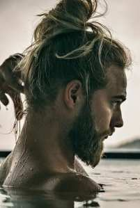 Latest Ponytail Hairstyle For Men In 2019