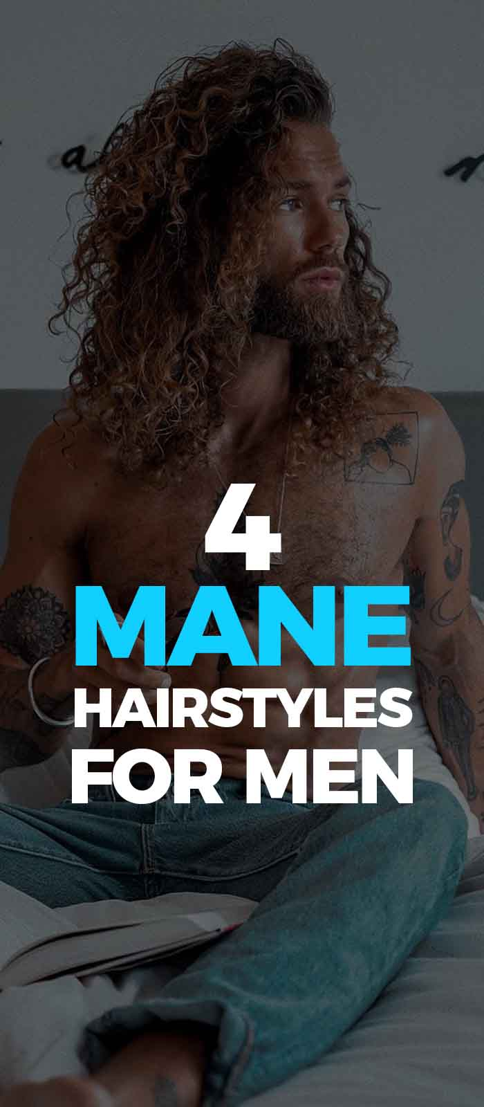 Mane Styling Options For Men.