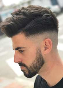 Medium Fade Hairstyles For Men.