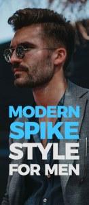 Modern Spike Haircut For Men.