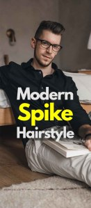 Modern Spike Haircut For Men!