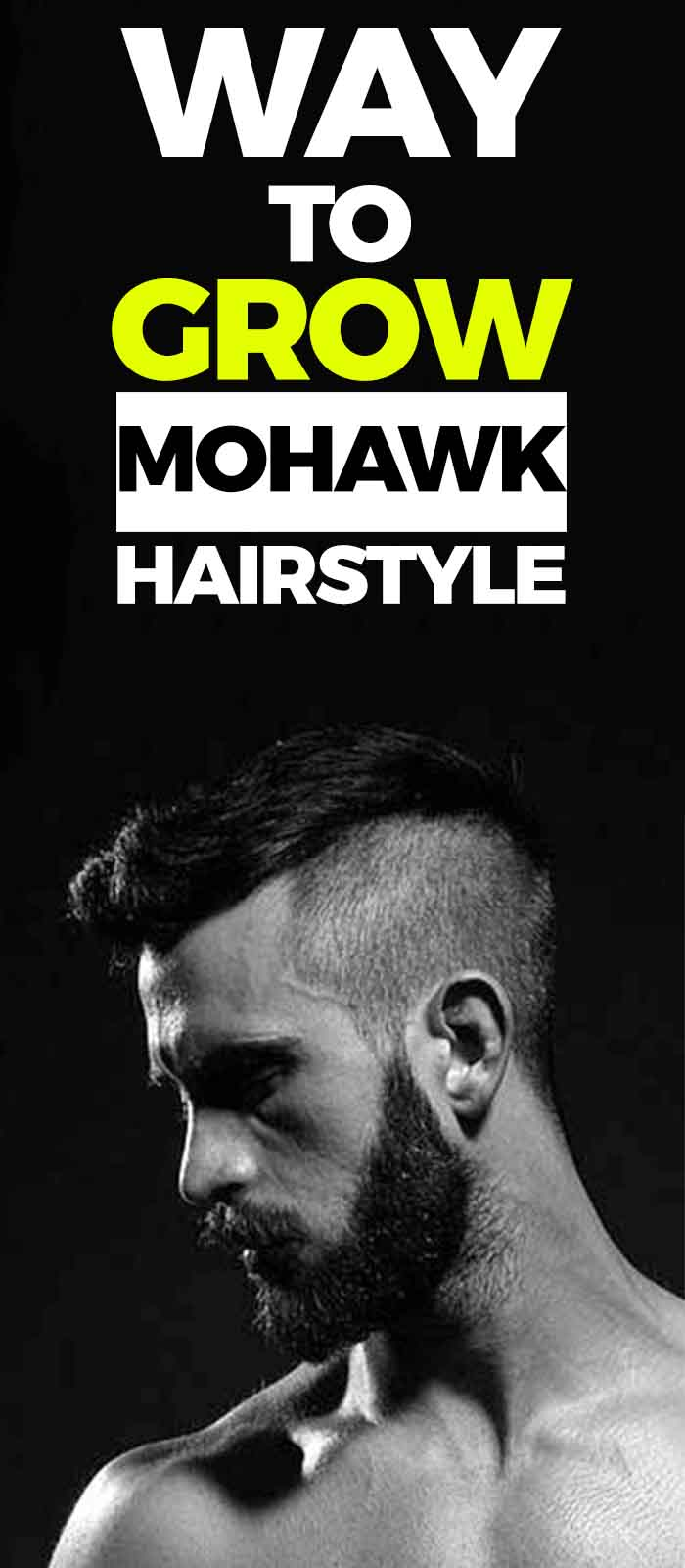 Perfect Mohawk Haircut For Men.