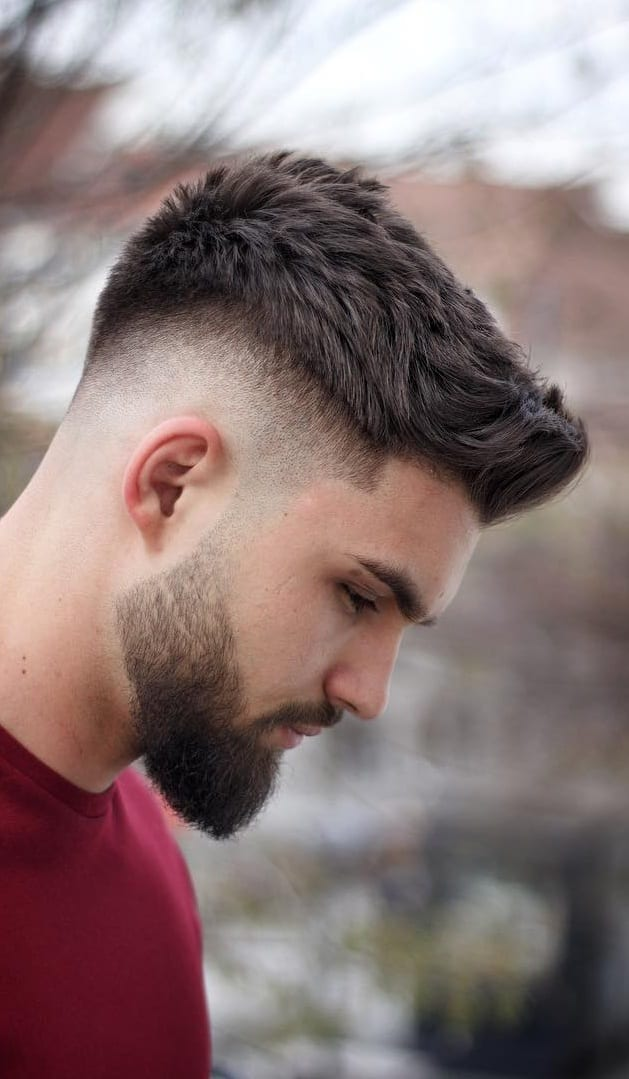 Popular Side Fade Haircuts For Men.