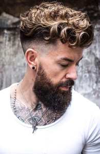 Sexy Messy Hairstyle for Men